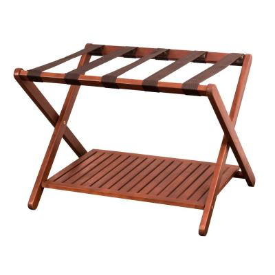 Natural Eucalyptus Luggage Rack