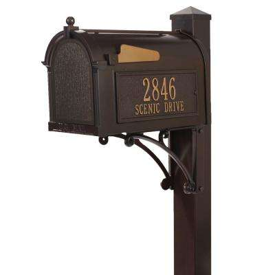 Superior French Bronze Streetside Mailbox