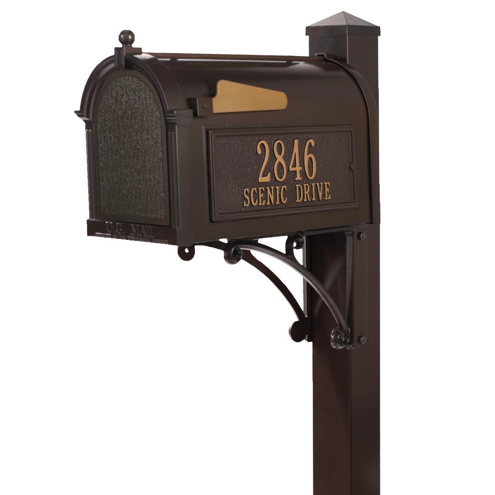 Superior French Bronze Streetside Mailbox