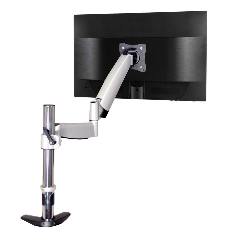 3-Way Articulating Single Monitor Desk Mount for 13 in. -27 in.