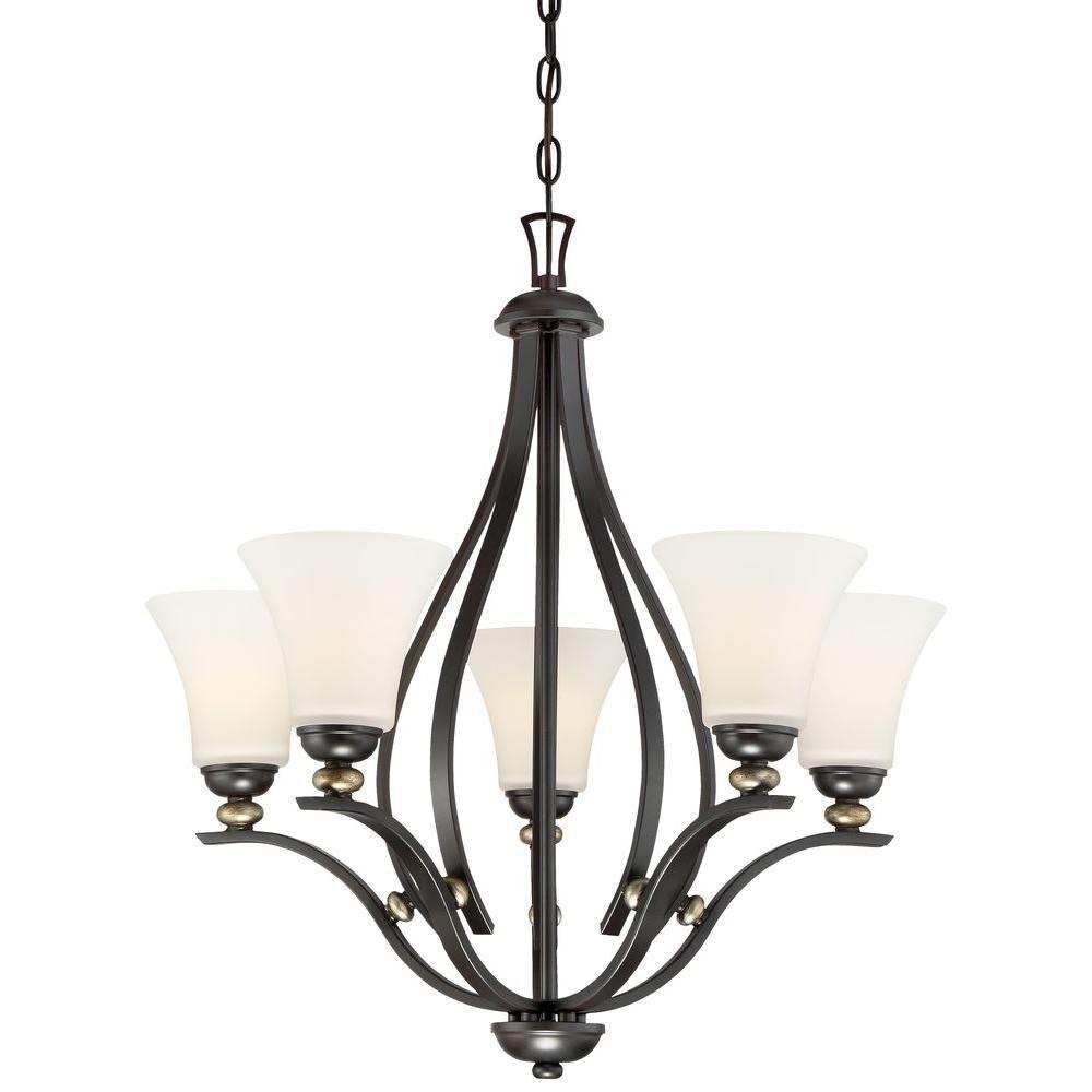 Minka lavery shadowglen 5 light lathan bronze chandelier 3285 589 minka lavery mozeypictures Images