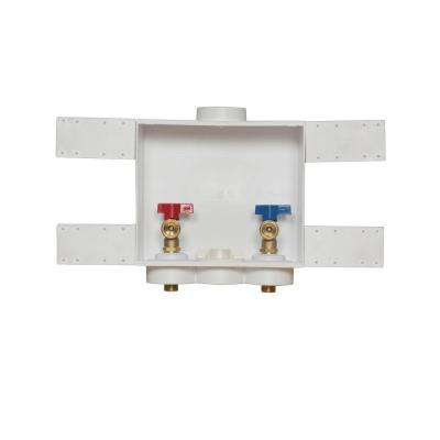 Quadtro 2 in. Copper Sweat Washing Machine Outlet Box