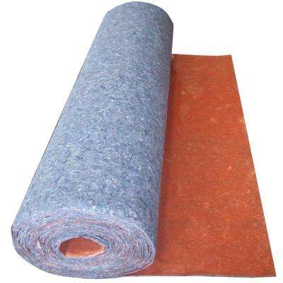 100 sq. ft. 3 ft. x 33.34 ft. x 1/8 in. Acoustical Underlayment with Attached Vapor Barrier