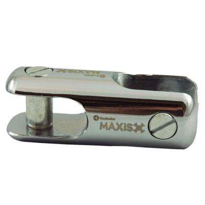 1-1/4 in. Chrome-Plated Steel Rope Clevis