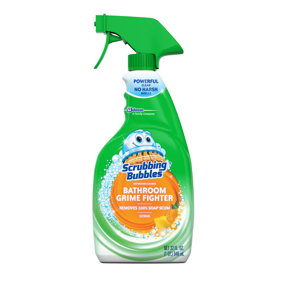 Scrubbing Bubbles 32 Fl. Oz. Citrus Bathroom Grime Fighter