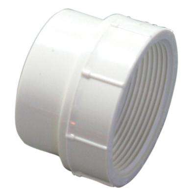 1-1/2 in. PVC DWV Street Spigot x FIPT Female Adapter