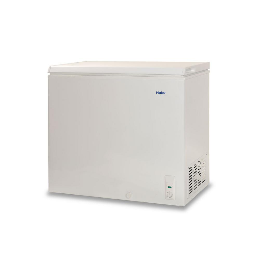 Haier 7 1 Cu Ft Chest Freezer In White Hf71cw20w The Home Depot