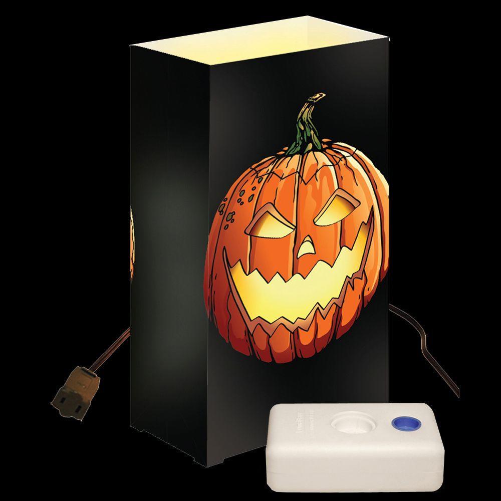 Lumabase Jack-O'-Lantern Electric Luminaria Kit