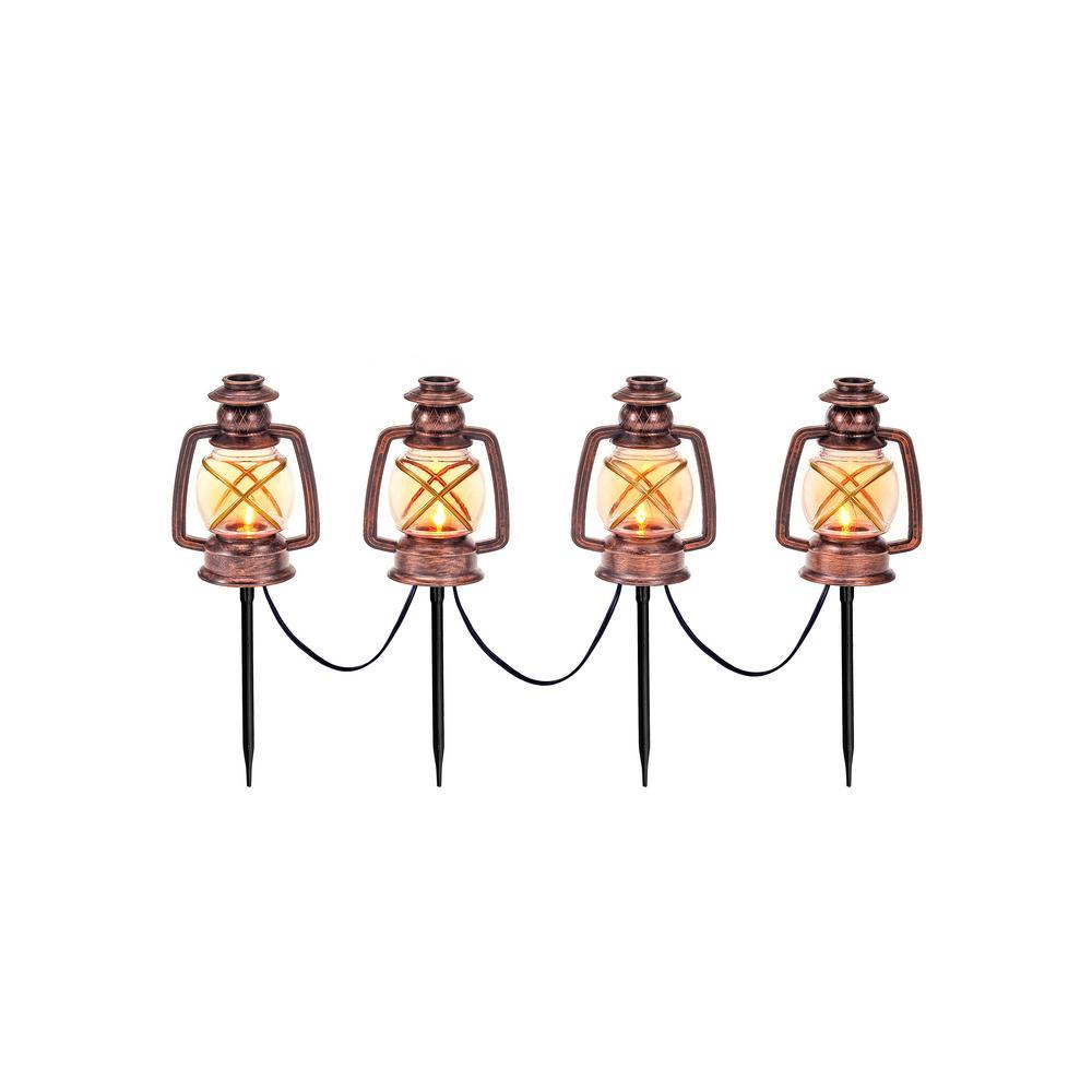 Flickering Light Lantern (Set of 4)