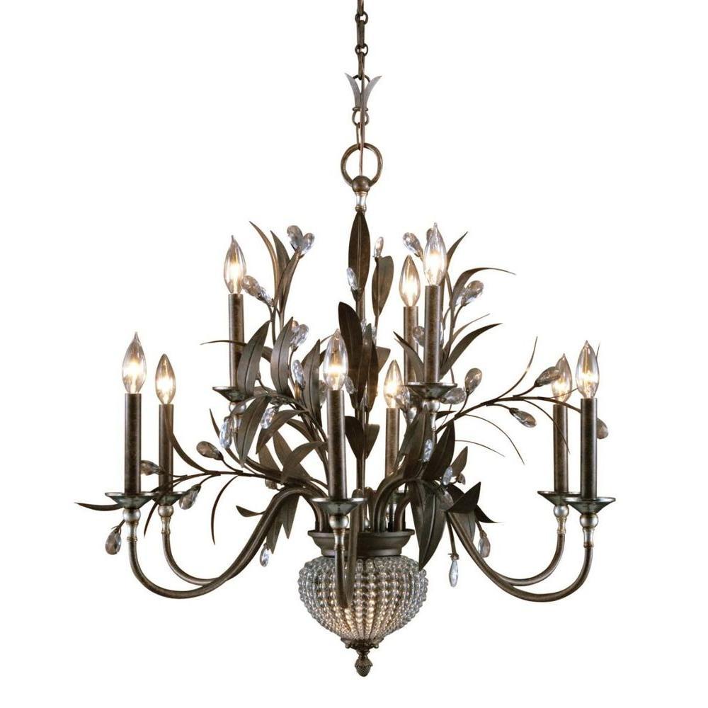 Global direct cristal de lisbon 11 light bronze chandelier 21094 global direct cristal de lisbon 11 light bronze chandelier arubaitofo Gallery