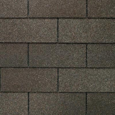 Royal Sovereign Weathered Gray Algae Resistant 3-Tab Roofing Shingles (33.33 sq. ft. per. Bundle) (26-pieces)