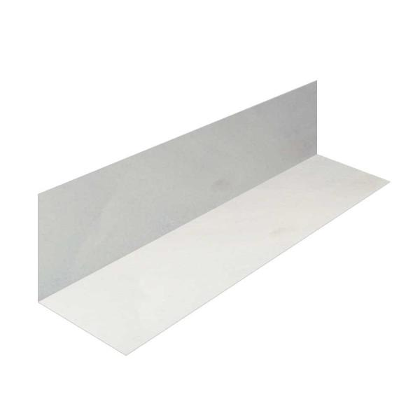 Gibraltar Building Products 4 In X 4 In X 10 Ft Galvanized Steel 90 L Flashing Lf44g The Home Depot