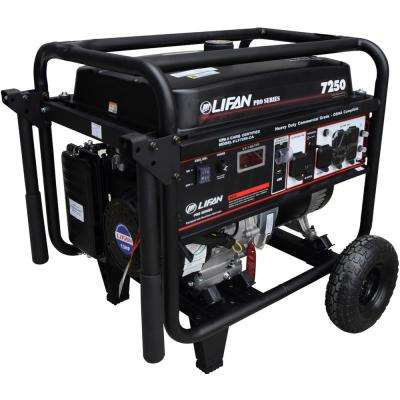OSHA Compliant Pro-Series 7,250/6,500-Watt Gasoline Powered Portable Generator