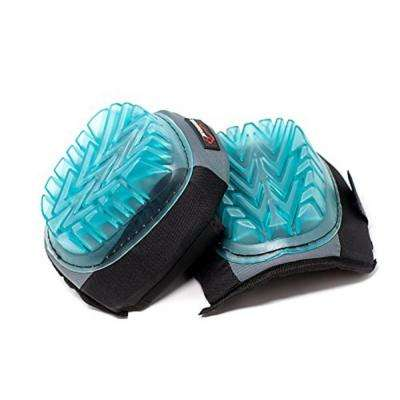 Professional Knee Pads with Superior Gel Cushion, Comfortable, Heavy-Duty (Clear Gel Blue)