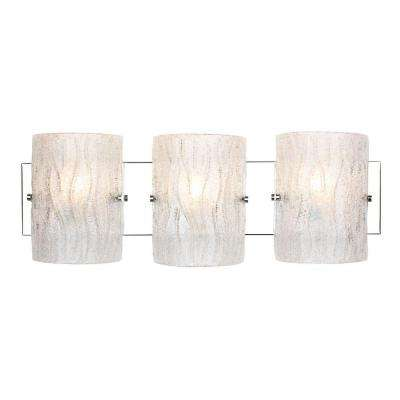 Brilliance 3-Light Chrome Bath Light