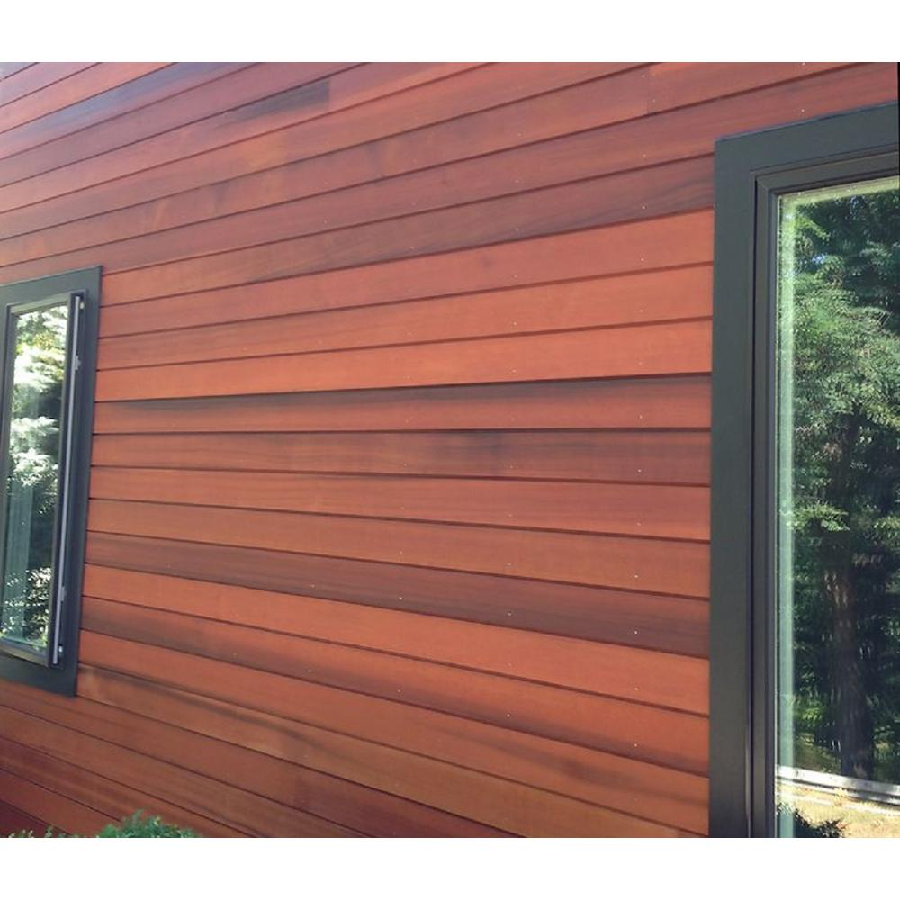Pattern Stock 1 In X 6 In X 14 Ft Clear Redwood Tongue And Groove Siding 1614crtg The Home Depot
