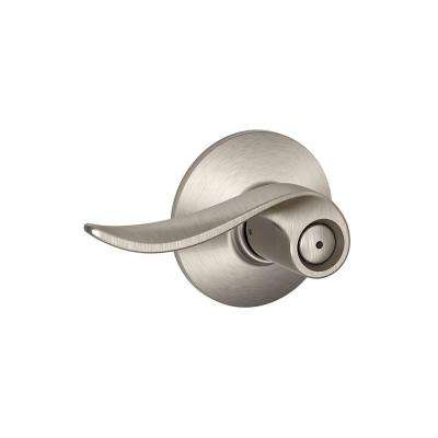Sacramento Satin Nickel Privacy Lock Lever