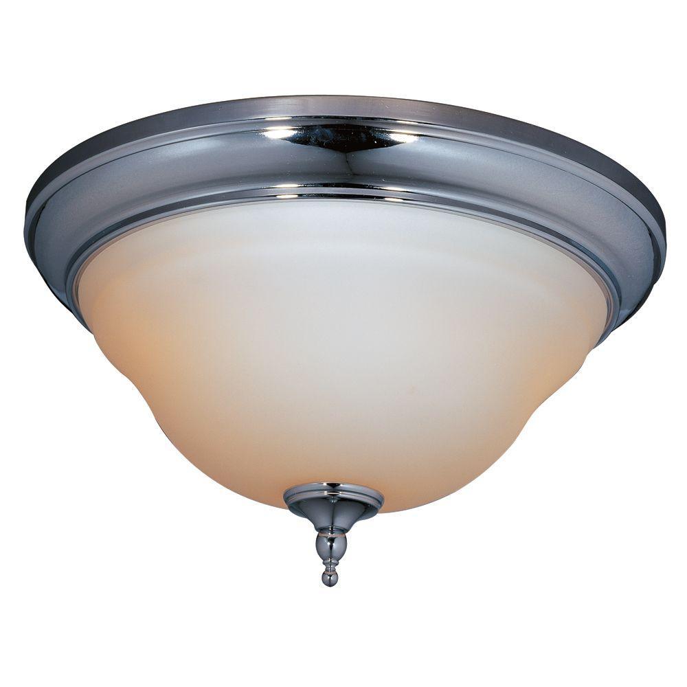 Montpelier Bath Collection 2-Light Chrome Ceiling Flushmount