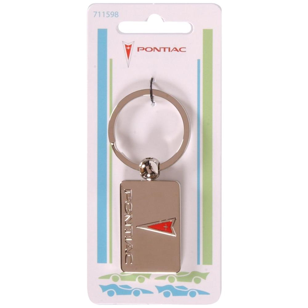 The Hillman Group Pontiac Auto Key Chain (3-Pack)