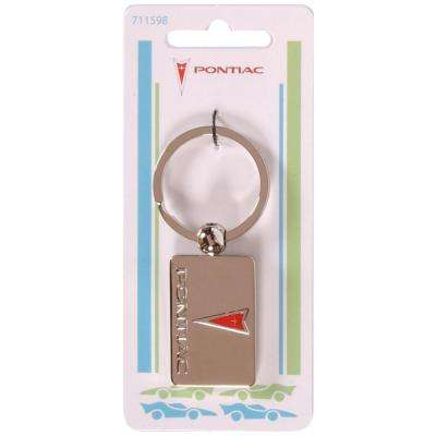 Pontiac Auto Key Chain (3-Pack)
