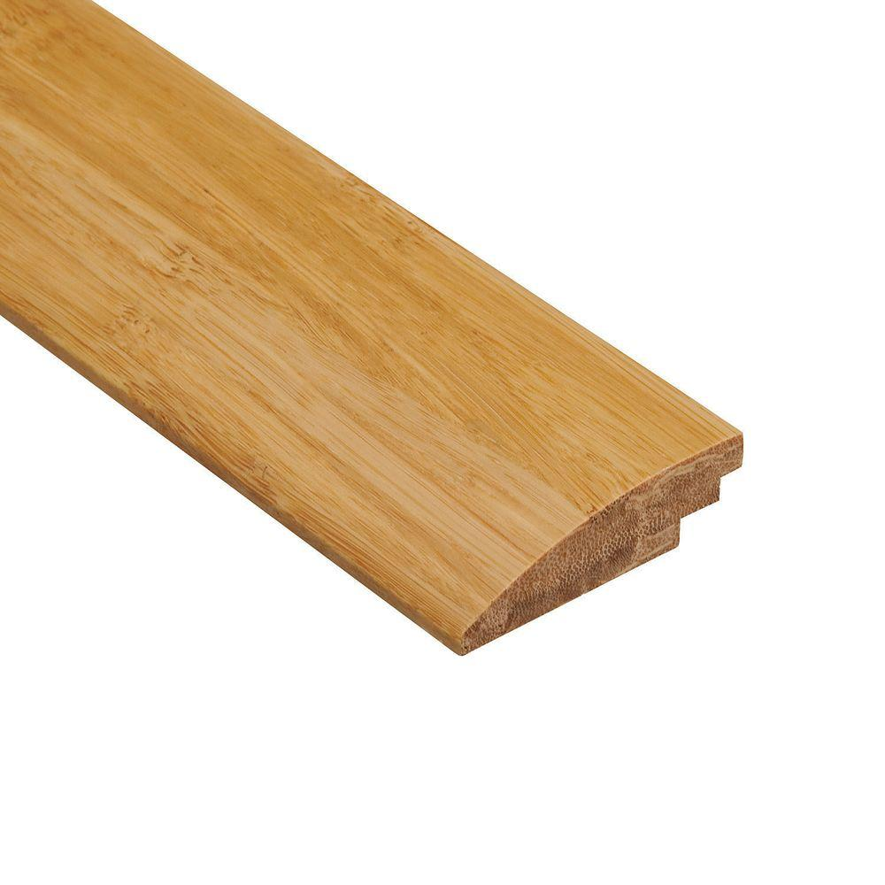 Home Legend Strand Woven Natural 1/2 in. Thick x 2 in. Wide x 47 in. Length Bamboo Hard Surface Reducer Molding