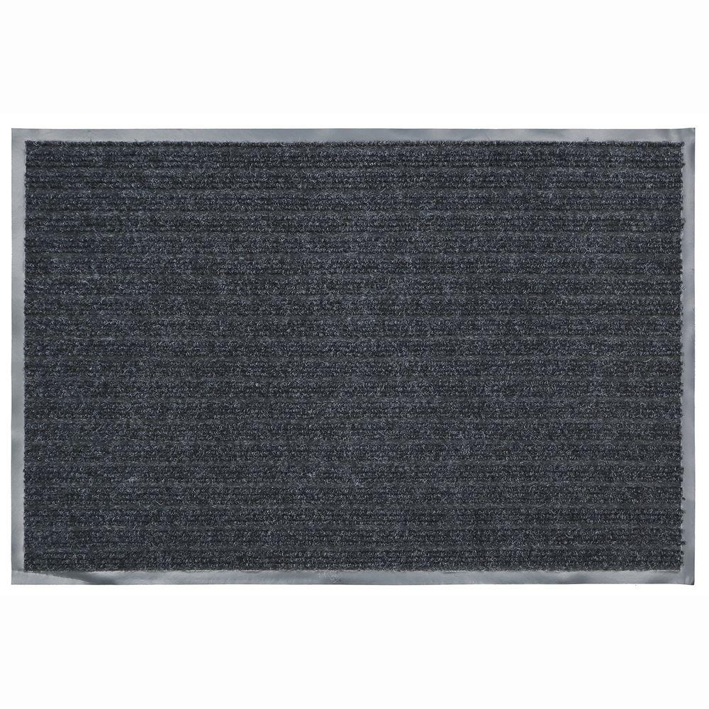 Door Mat 36 In X 48 In Charcoal Commercial Heavy Duty