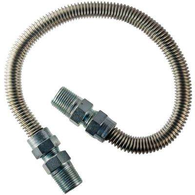 3/8 in. MIP x 3/8 in. MIP x 24 in. Dryer Connector 1/2 in. O.D.