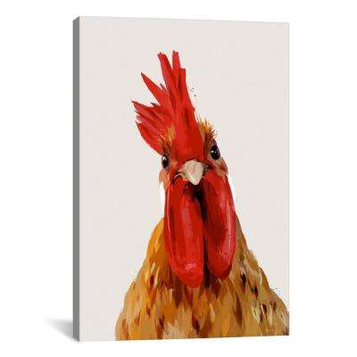 Chicken Or The Egg? by Green Lili Wall Art