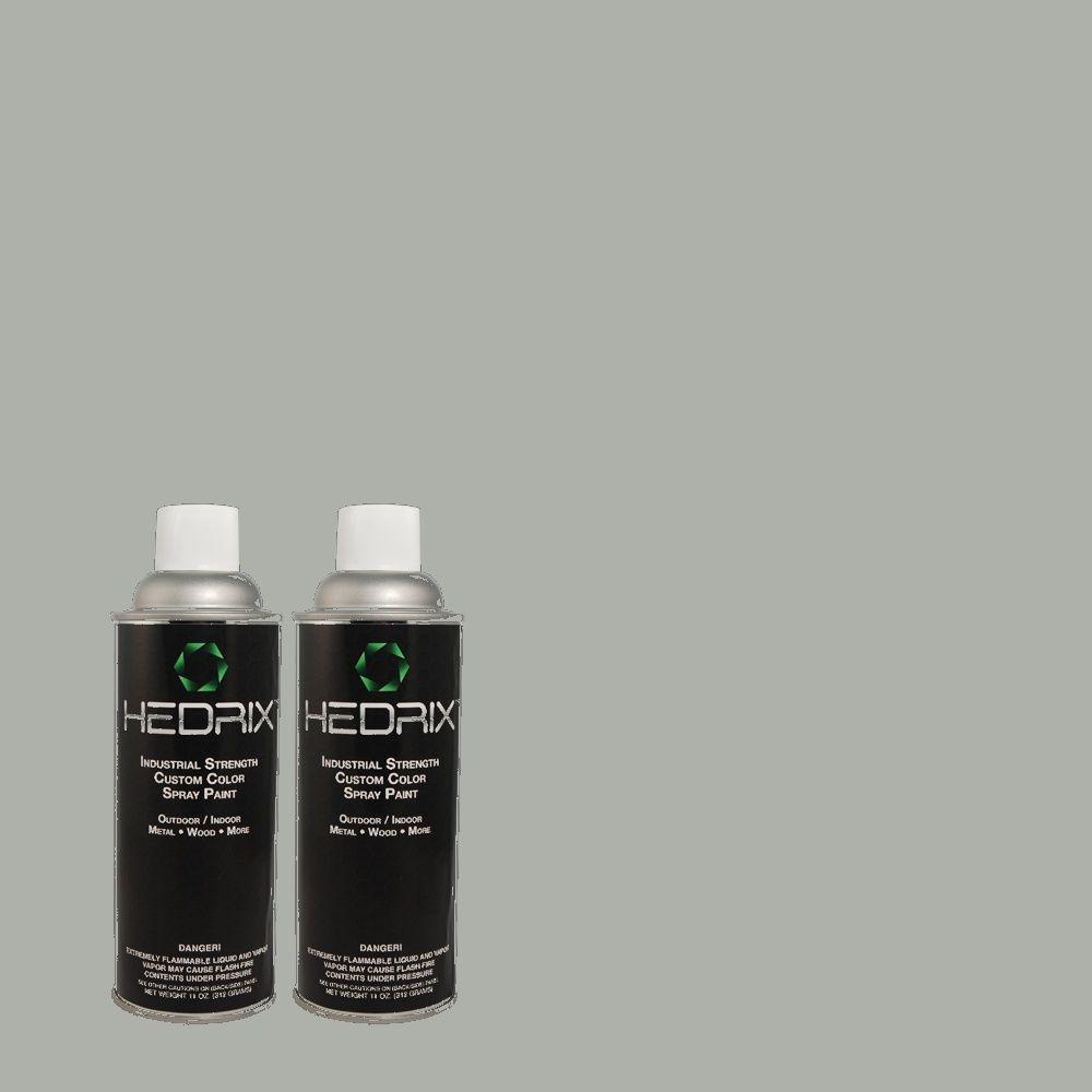 Hedrix 11 oz. Match of PEC-24 Smoke Gloss Custom Spray Paint (2-Pack)