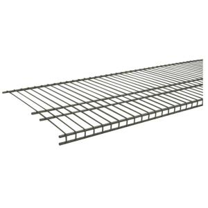 d nickel ventilated wire shelf closetmaid superslide