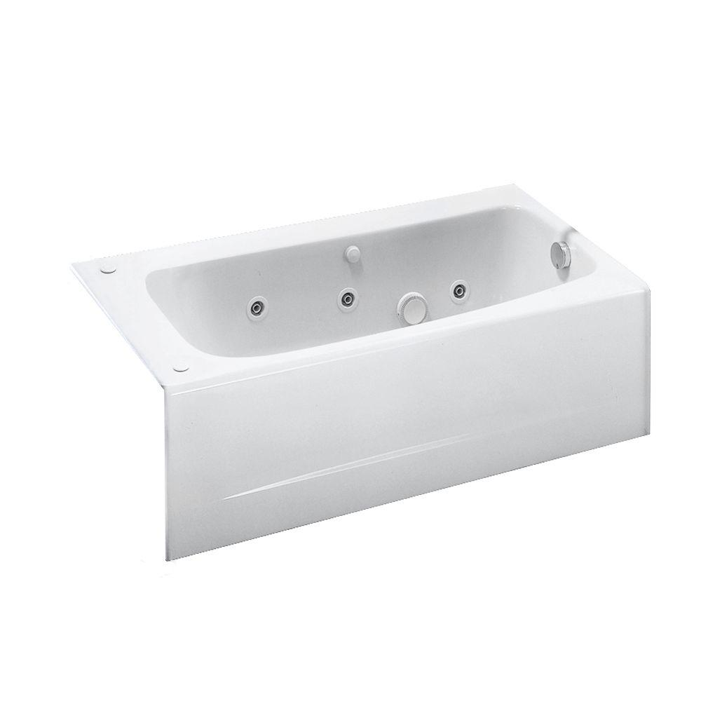 American Standard Cambridge 60 In X 32 In Right Drain