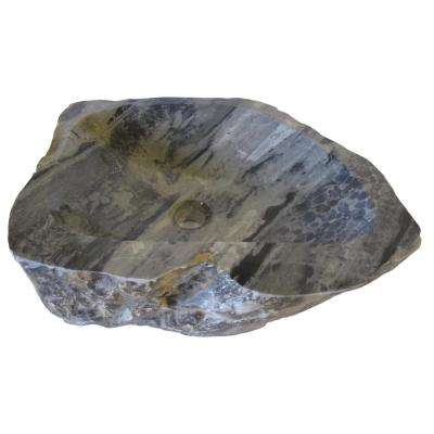 Royal Cobblestone Vessel Sink in Multi Color