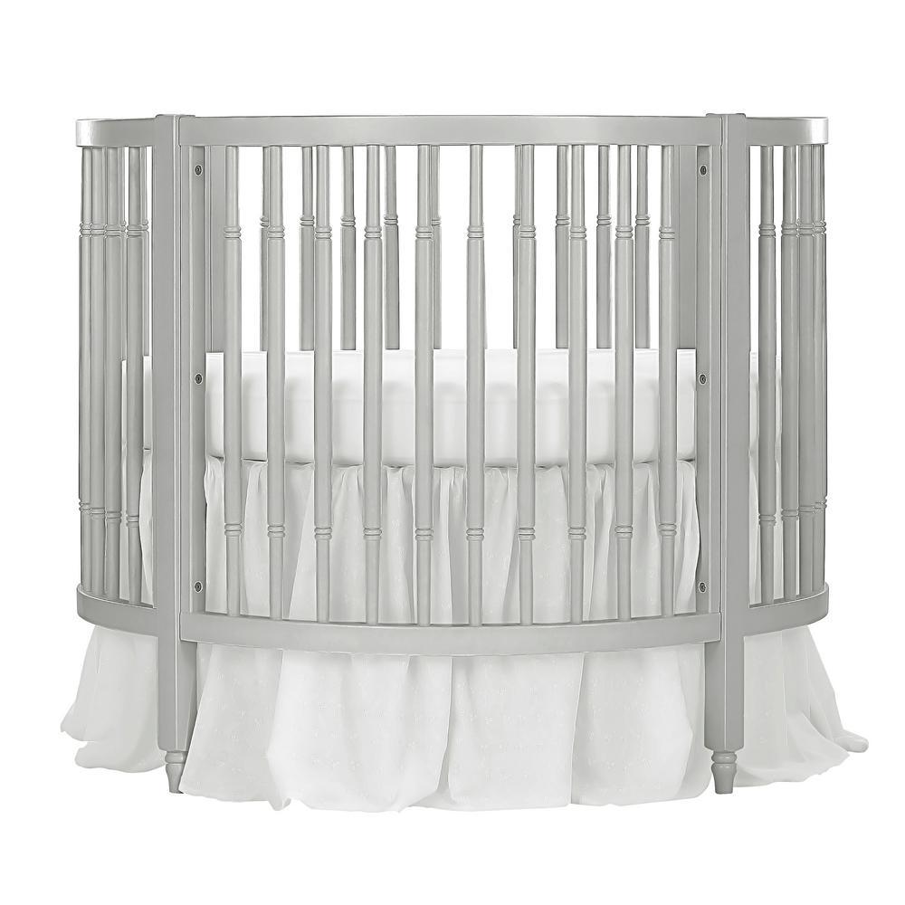 Sophia Posh Silver Pearl Circular Crib