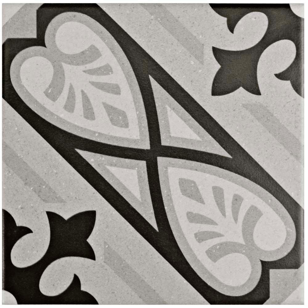 Brezo Mistral 5-7/8 in. x 5-7/8 in. Porcelain Floor and Wall
