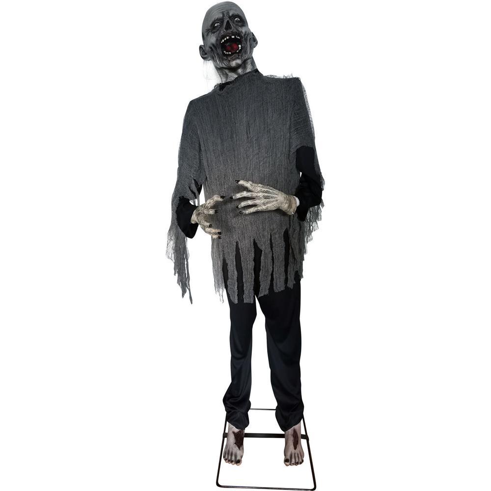 73 in. Animatronic Zombie