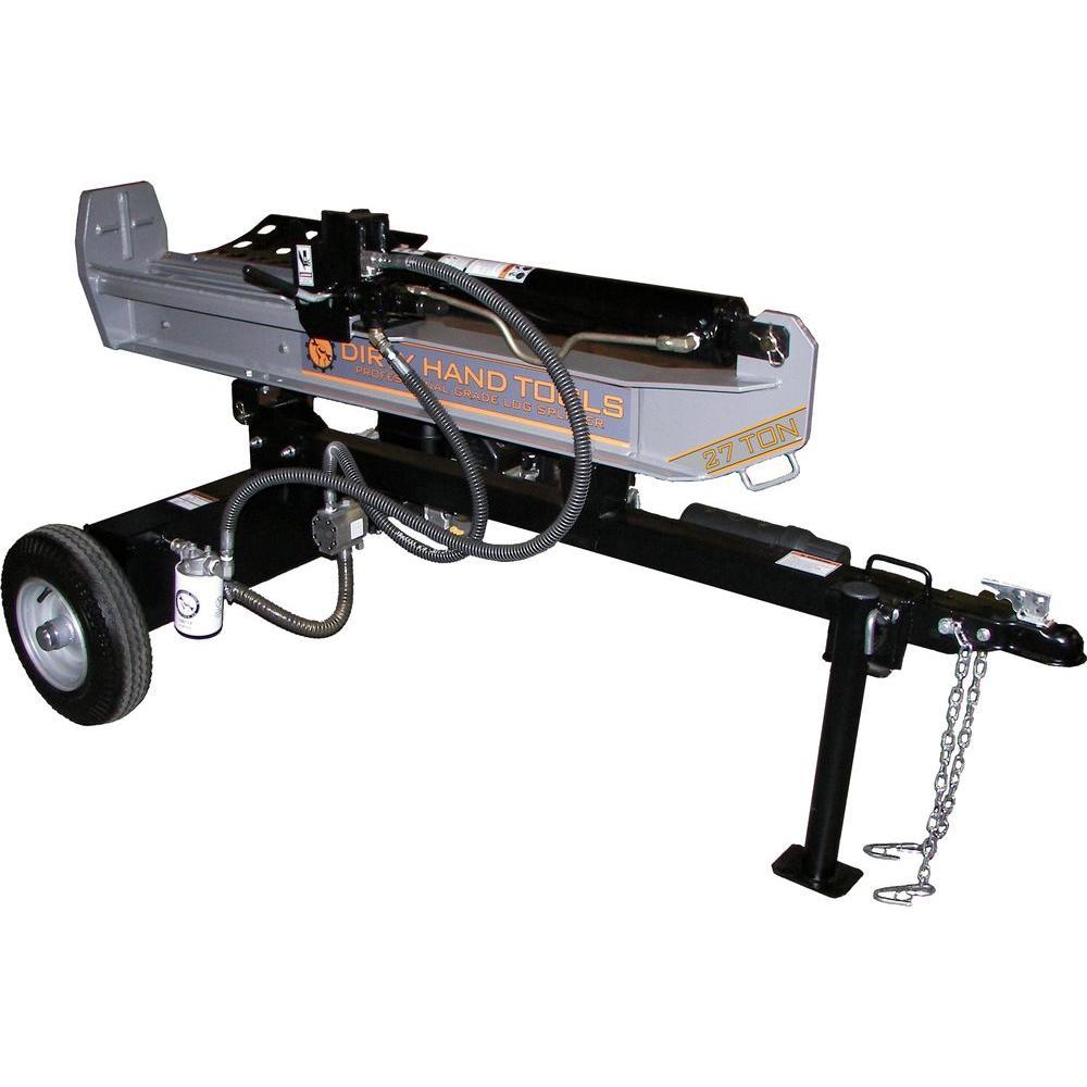 27-Ton Gas Log Splitter