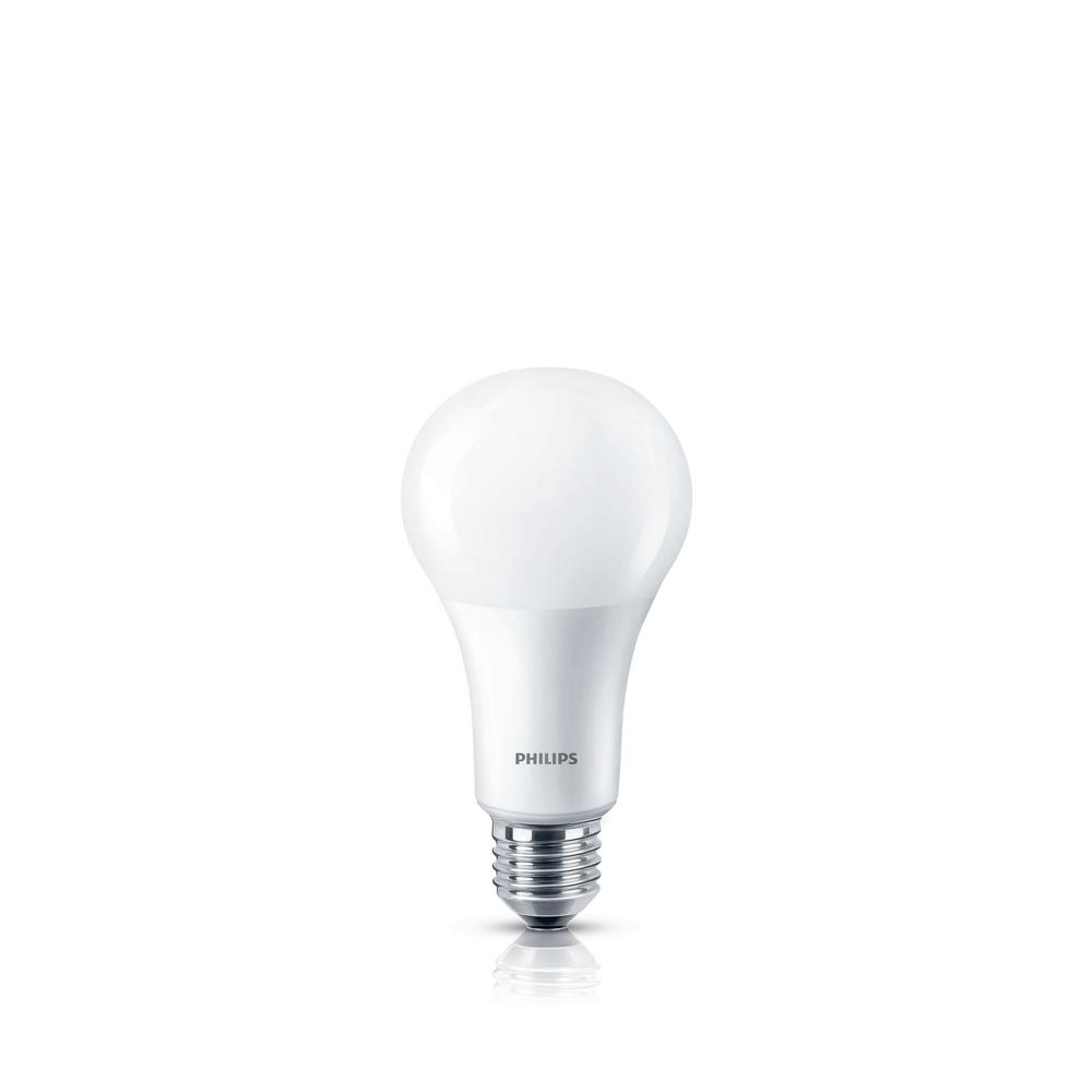 75W Equivalent Frosted A21 Dimmable WarmGlow LED Light Bulb