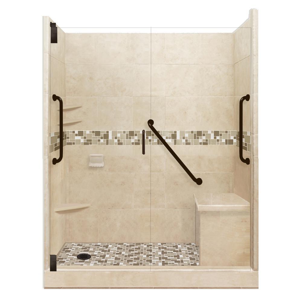American Bath Factory Tuscany Freedom Grand Hinged 34 In