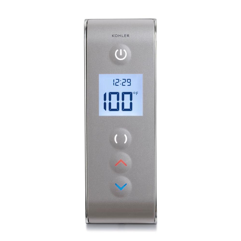 Kohler Dtv Prompt Digital Shower Interface In Satin Nickel With Polished