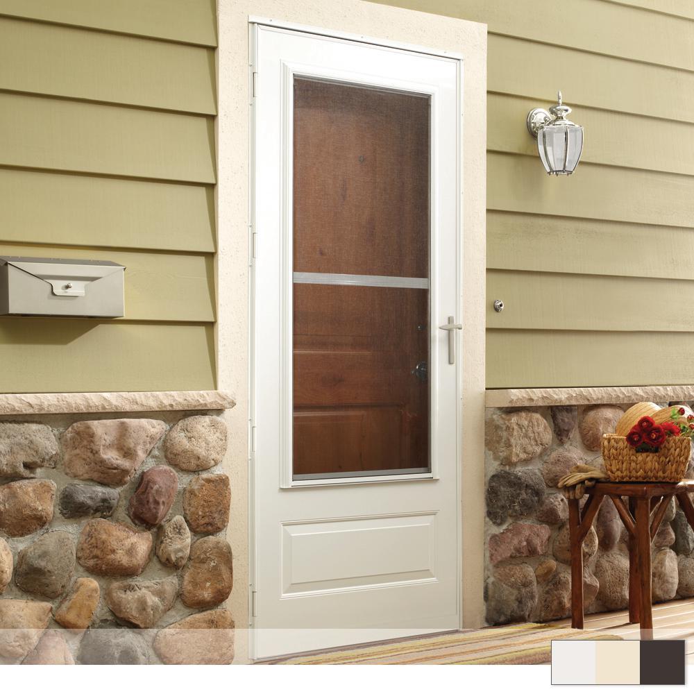 300 Series 3/4 View Triple-Track Storm Door