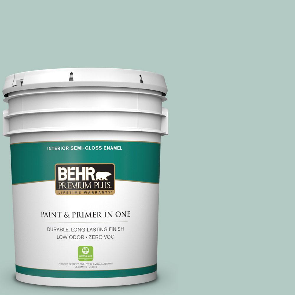 5-gal. #S430-2 Fresh Tone Semi-Gloss Enamel Interior Paint