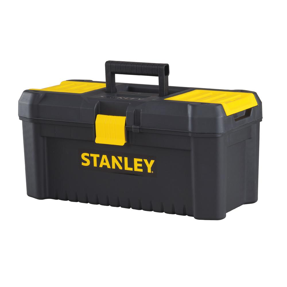 Stanley Essential 16 In Tool Box With Lid Organizers