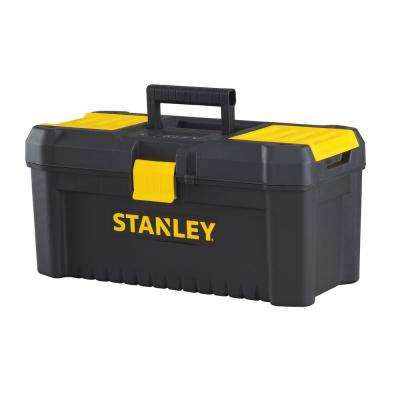 Essential 16 in. Tool Box with Lid Organizers