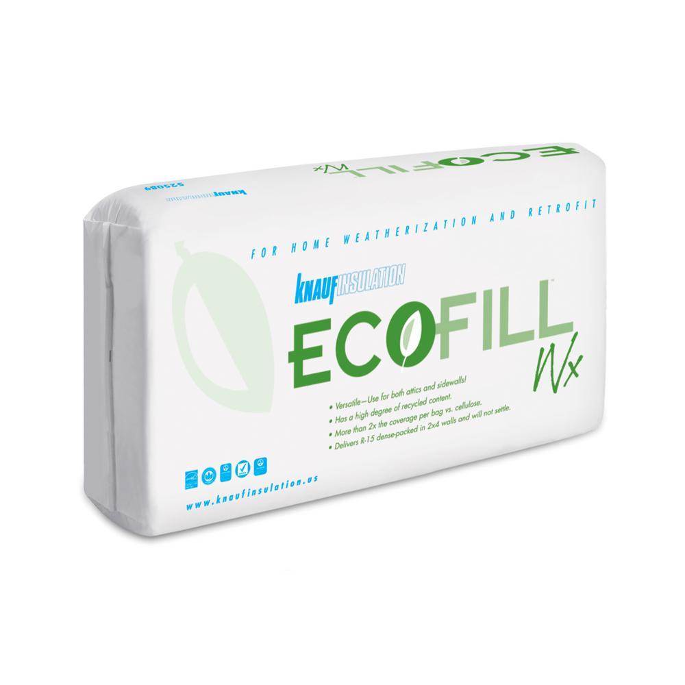Knauf Insulation EcoFill Wx Fiberglass Blown-in Insulation