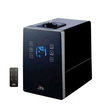 1.58 Gal. Digital Ultrasonic Cool and Warm Mist Humidifier with Aroma Function