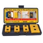 Blind Mark Drywall Electrical Box Locating Tool Kit (4-Pieces)