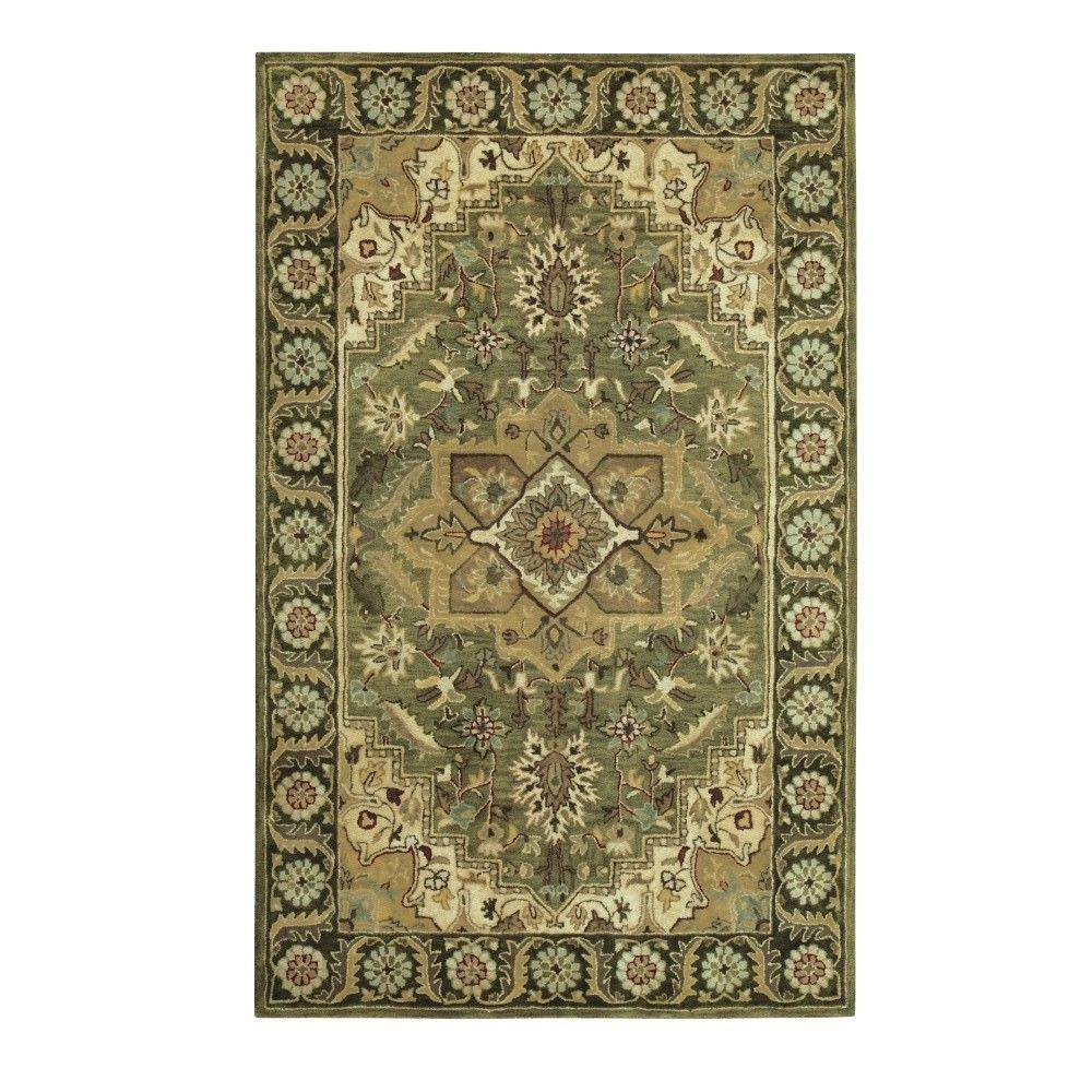 Home Decorators Collection Normandie Sage 8 Ft X 11 Ft