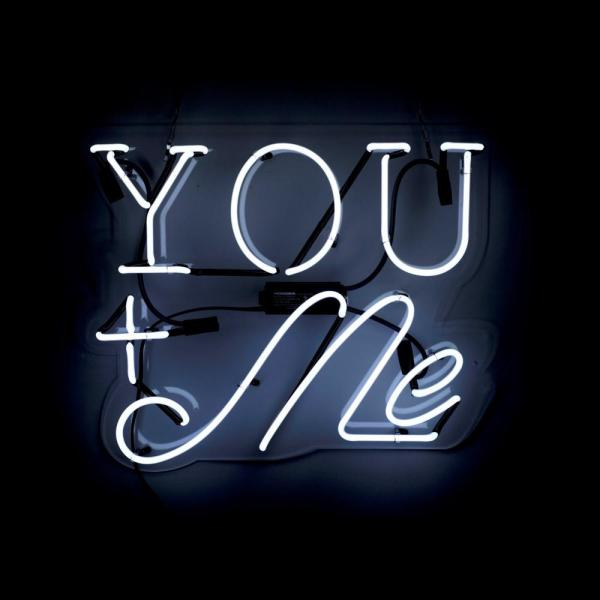 The Oliver Gal Artist Co. Oliver Gal 'You and Me' Plug-in Neon Lighted Sign