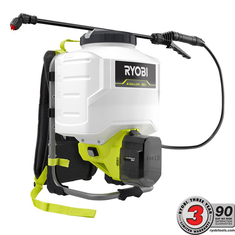 Ryobi One 18 Volt Lithium Ion Cordless Backpack Chemical