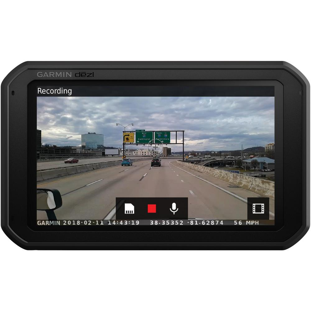 Garmin dezlCam 785 LMT-S 7 in. GPS Navigator with Built-in Dash Cam, Bluetooth and Lifetime Maps